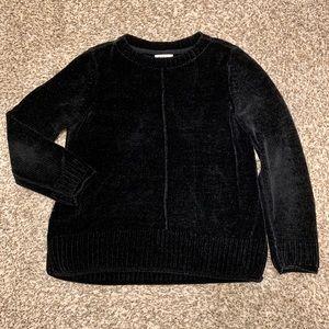 Style & Co Black Crew Neck Sweater
